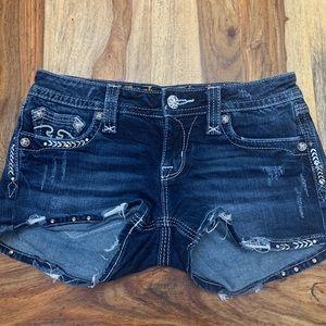 Rock Revival jean mini skirt